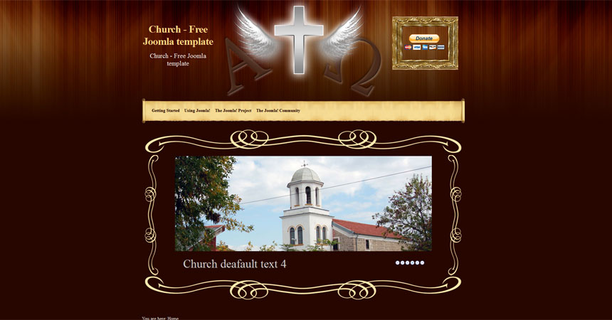 free joomla 2 5 church template free joomla templates downloads